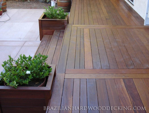 Brazilian Hardwood Decking Exotic Wood Decking
