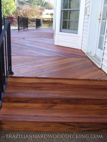 Tigerwood Pictures Brazilian Hardwood Decking